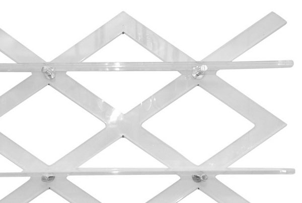 Lattice Wall Rack
