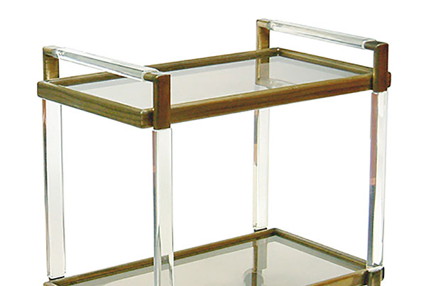 Metric Bar Cart